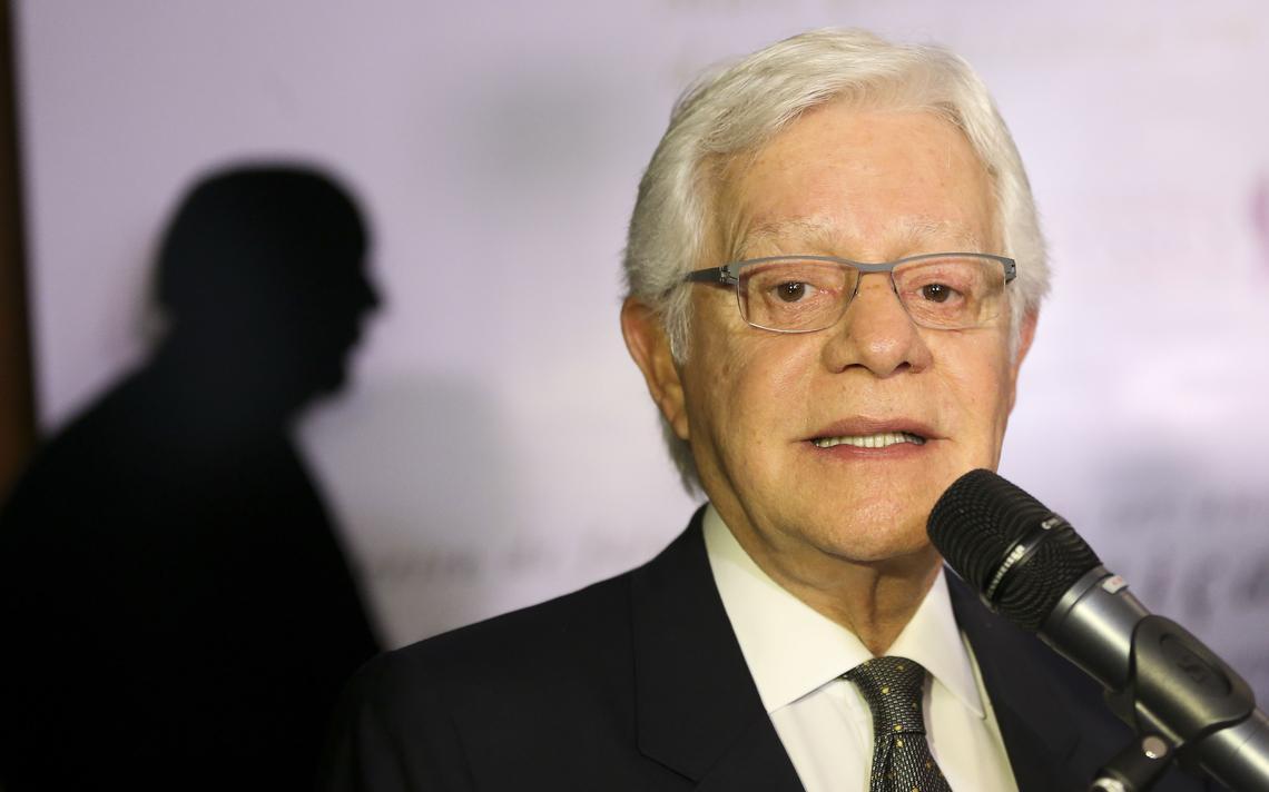 Moreira Franco participa de evento em Brasília, em 2016
