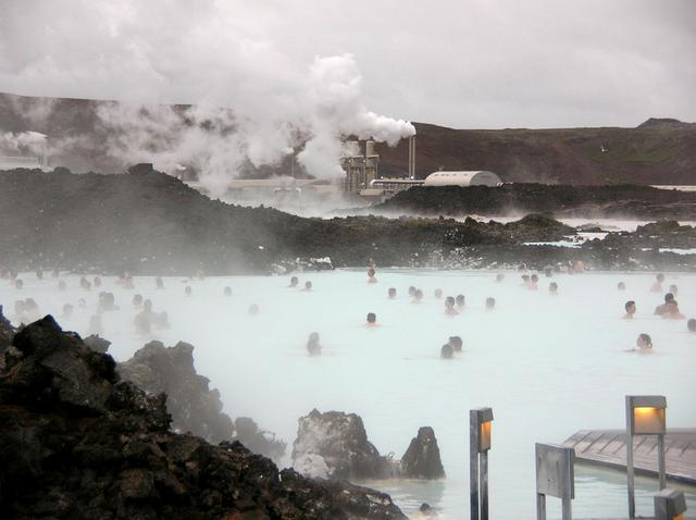 Blue Lagoon, spa geotérmico na Islândia