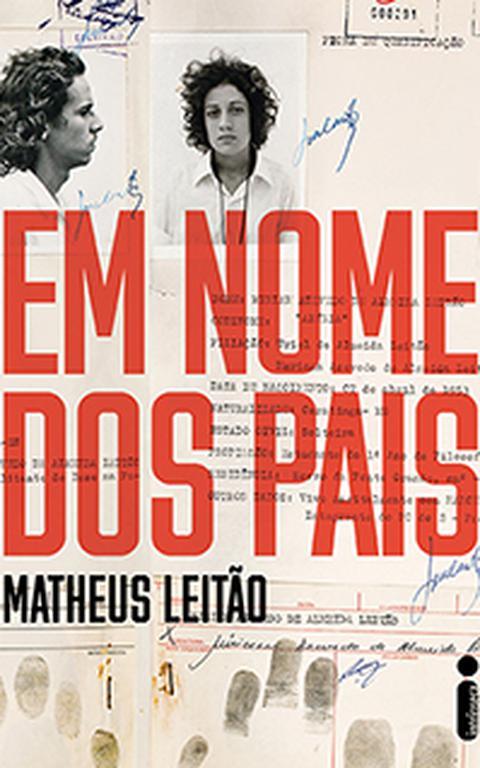 """Capa do livro """"Em nome dos pais"""", de Matheus Leitão"""