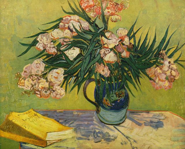 'Natureza morta com oleandros' (1888), de Vincent Van Gogh
