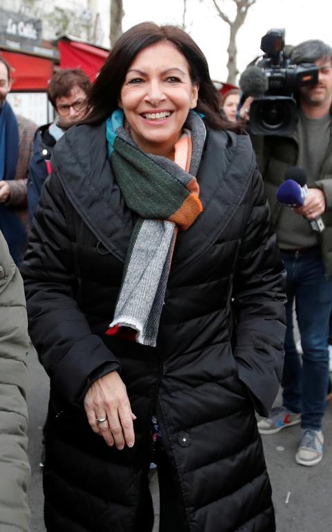 Anne Hidalgo em Paris
