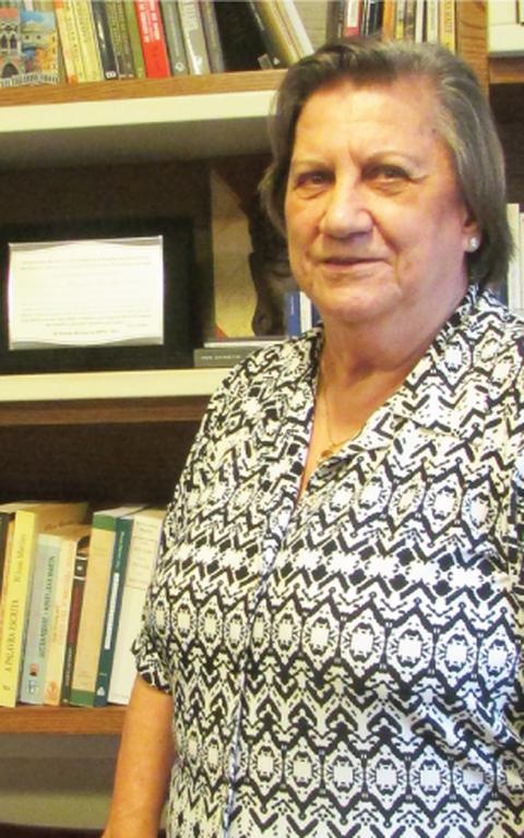 Professora Magda Soares, ganhadora de dois prêmios Jabuti