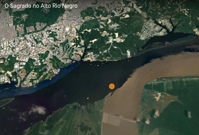 Encontro do rio Negro com o Solimões marca o início da jornada