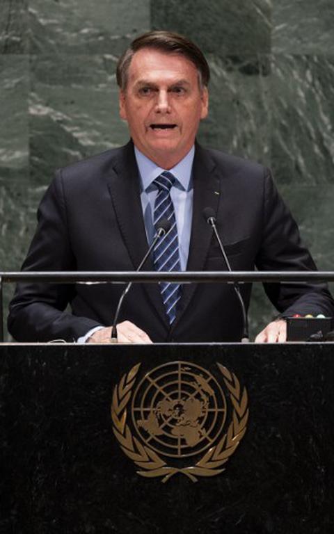 Jair Bolsonaro na ONU