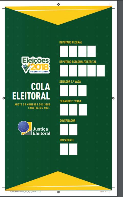 Cola eleitoral do TSE