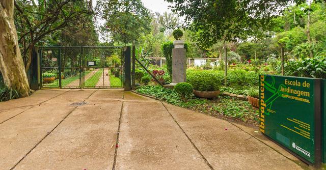 Escola de Jardinagem, localizada no Parque do Ibirapuera