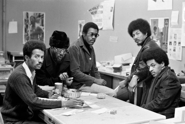 Quartel general dos Panteras Negras em São Francisco, Califórnia, em 1970