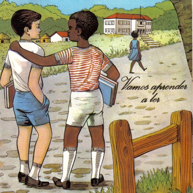 Material didático distribuído em Angola em 1966, antes da sua independência