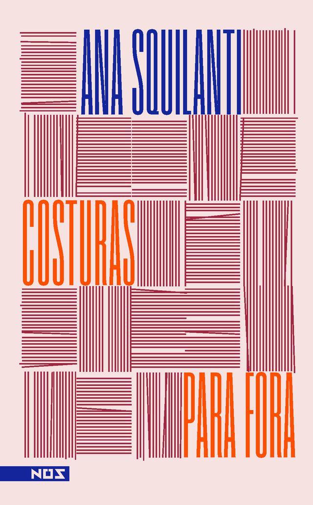 """Capa do livro """"Costuras para fora"""", da Ana Squilanti"""