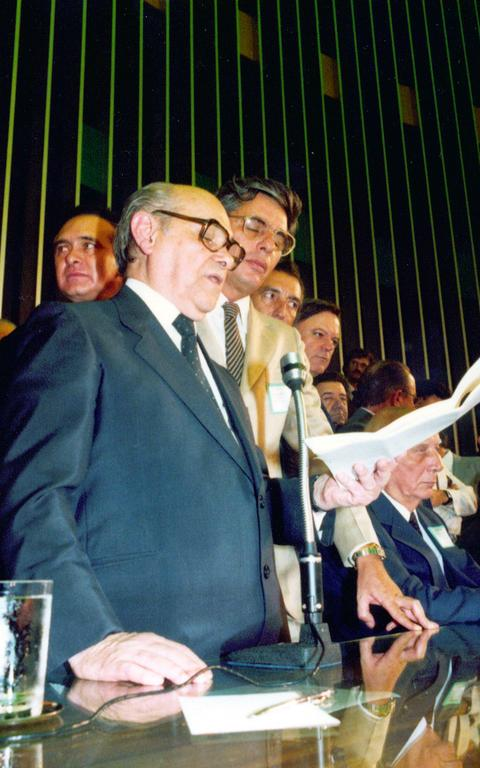 Tancredo Neves, em 1985