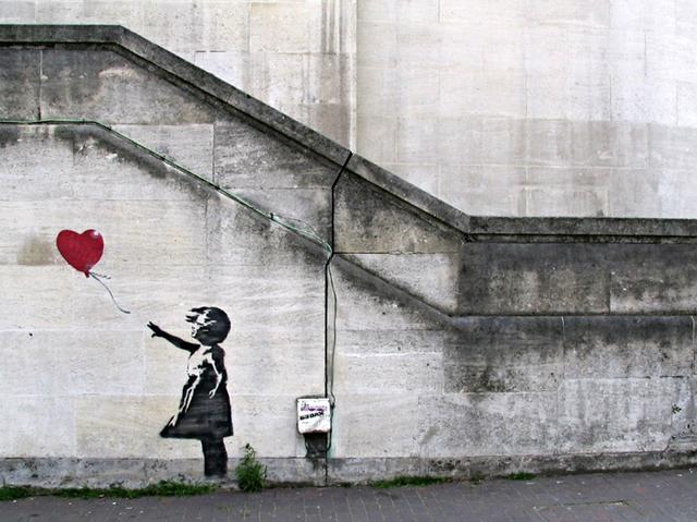 'Girl with a balloon'