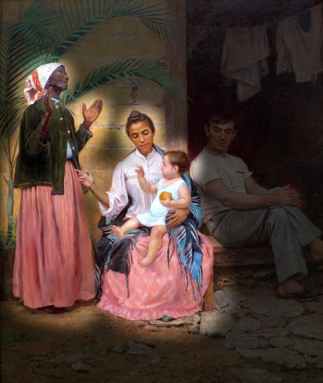 A redenção de Cam, de Modesto Brocos