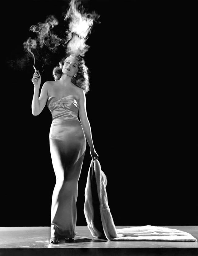 Rita Hayworth no filme Gilda (1946)