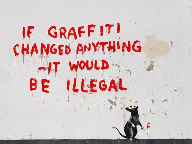 'If graffiti changed anything'