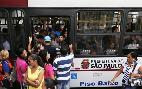 Como são administrados os serviços de ônibus na cidade de São Paulo