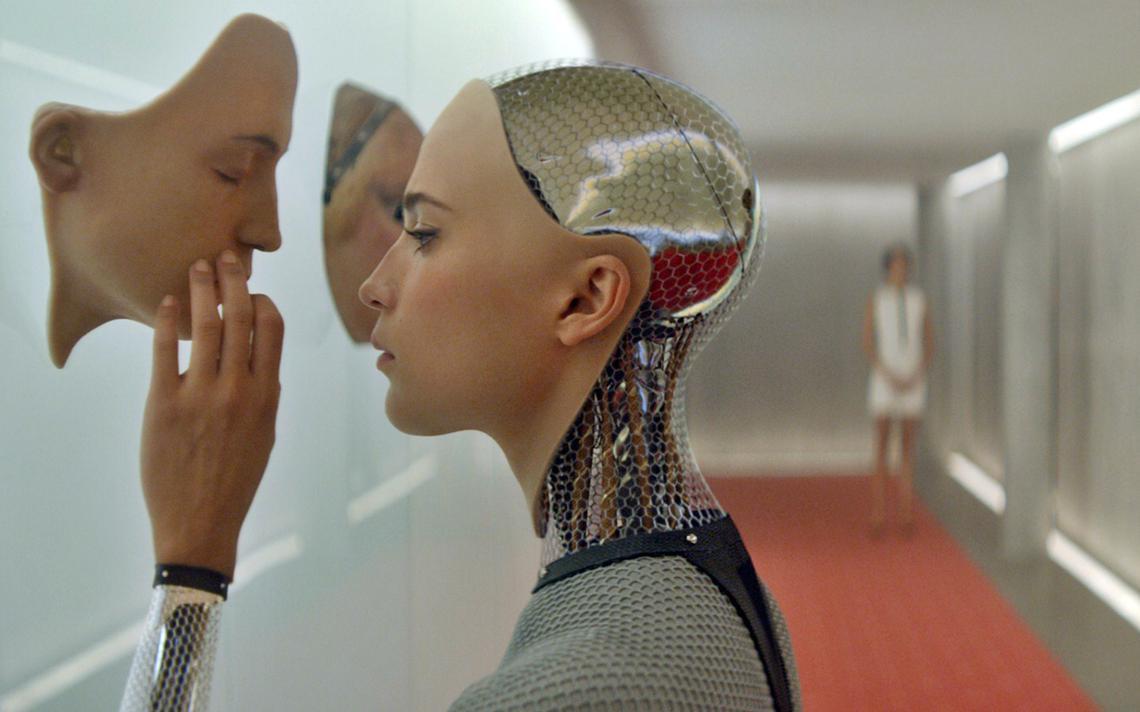 Robô humanóide de filme Ex_Machina