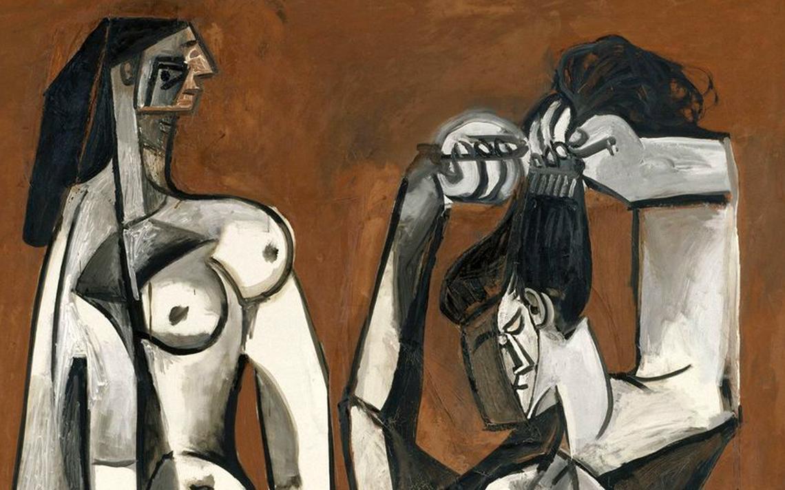 'Femmes à la toilette', de 1956