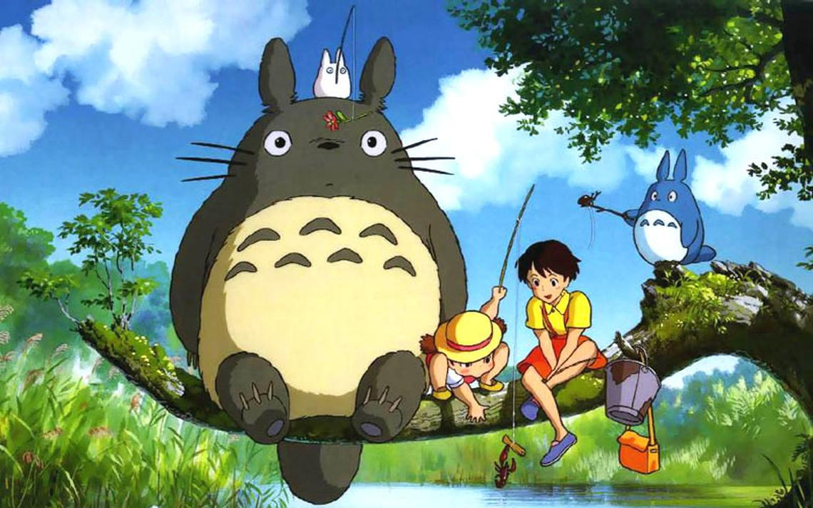 Cena da animação 'Meu Amigo Tororo', um dos sucessos do Studio Ghibili.