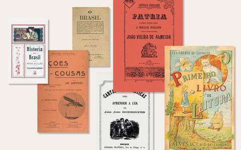 Os primeiros livros didáticos