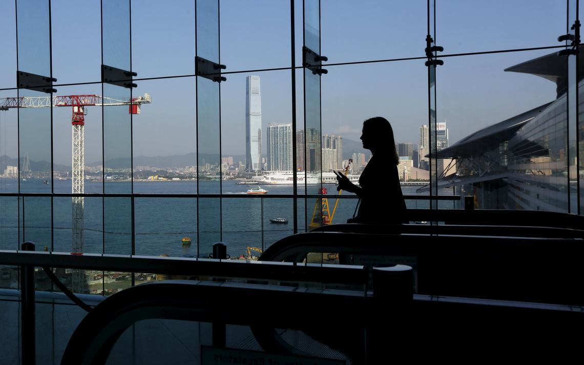 Executiva no Fórum Financeiro da Ásia, em Hong Kong