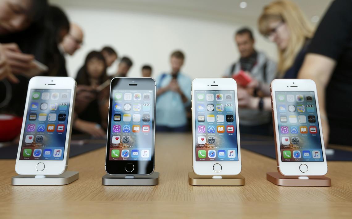 Novos iPhones SE lançados nesta segunda-feira (21) nos EUA