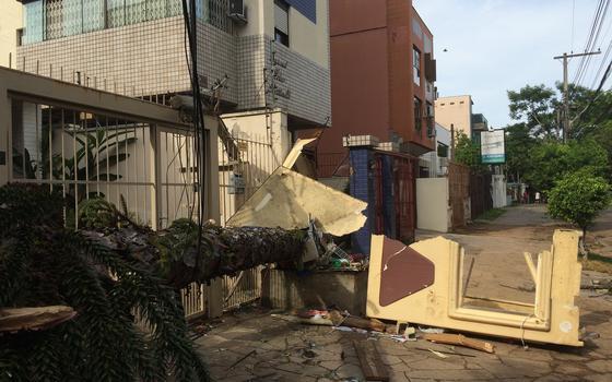 Como a meteorologia explica o temporal que atingiu Porto Alegre