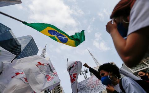 Esquerda e direita disputam direito de protestar no 7 de Setembro