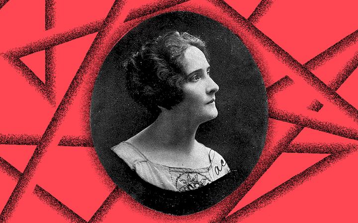 Retrato da escritora Maria Lacerda de Moura, autora de 'A mulher é uma degenerada?', de 1924