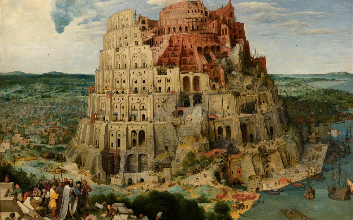 'A Torre de Babel' (1563), de Pieter Bruegel