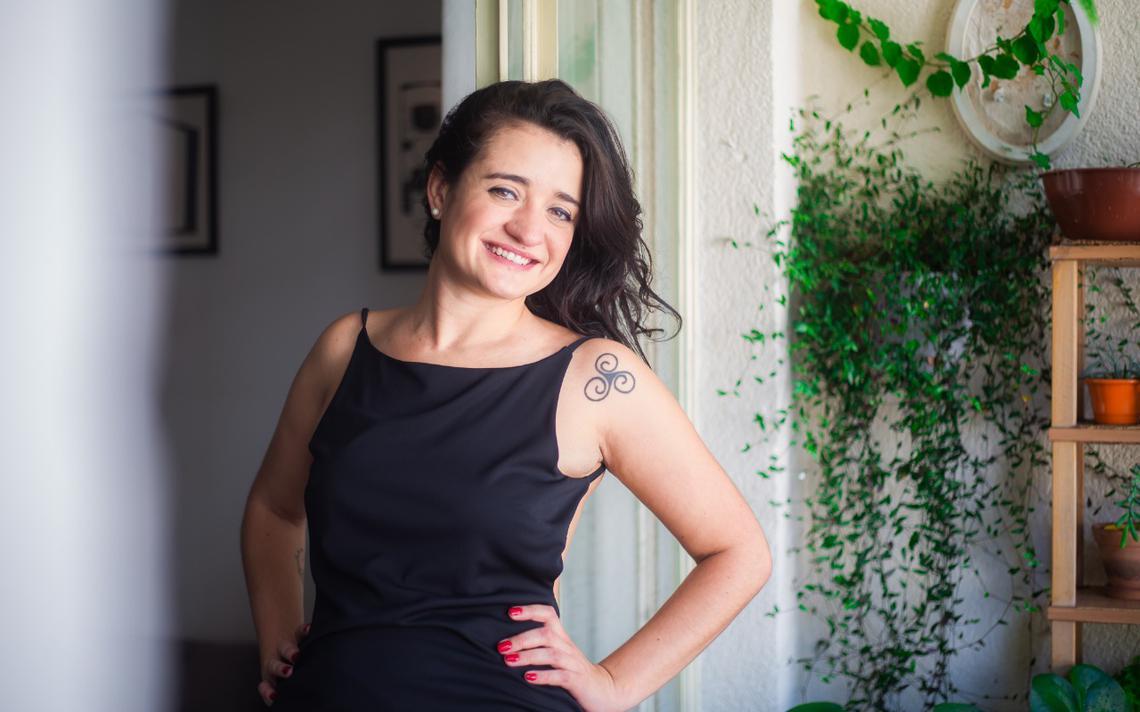 A radialista Bela Pulfer, criadora do projeto 'Clássica'