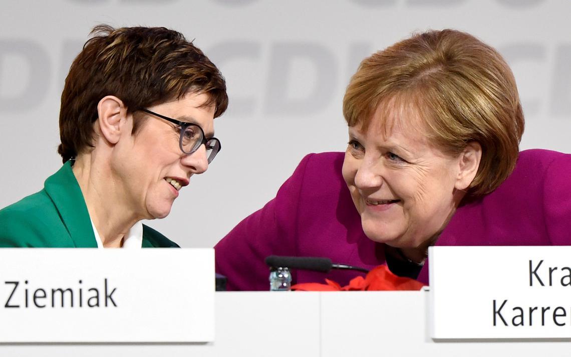 AKK Merkel