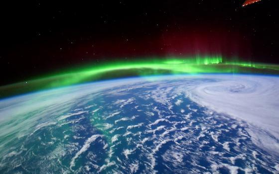 A ciência das auroras polares