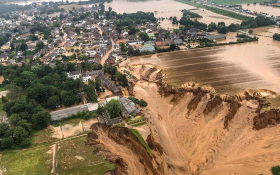 Presidente alemão atribui mortes às mudanças climáticas