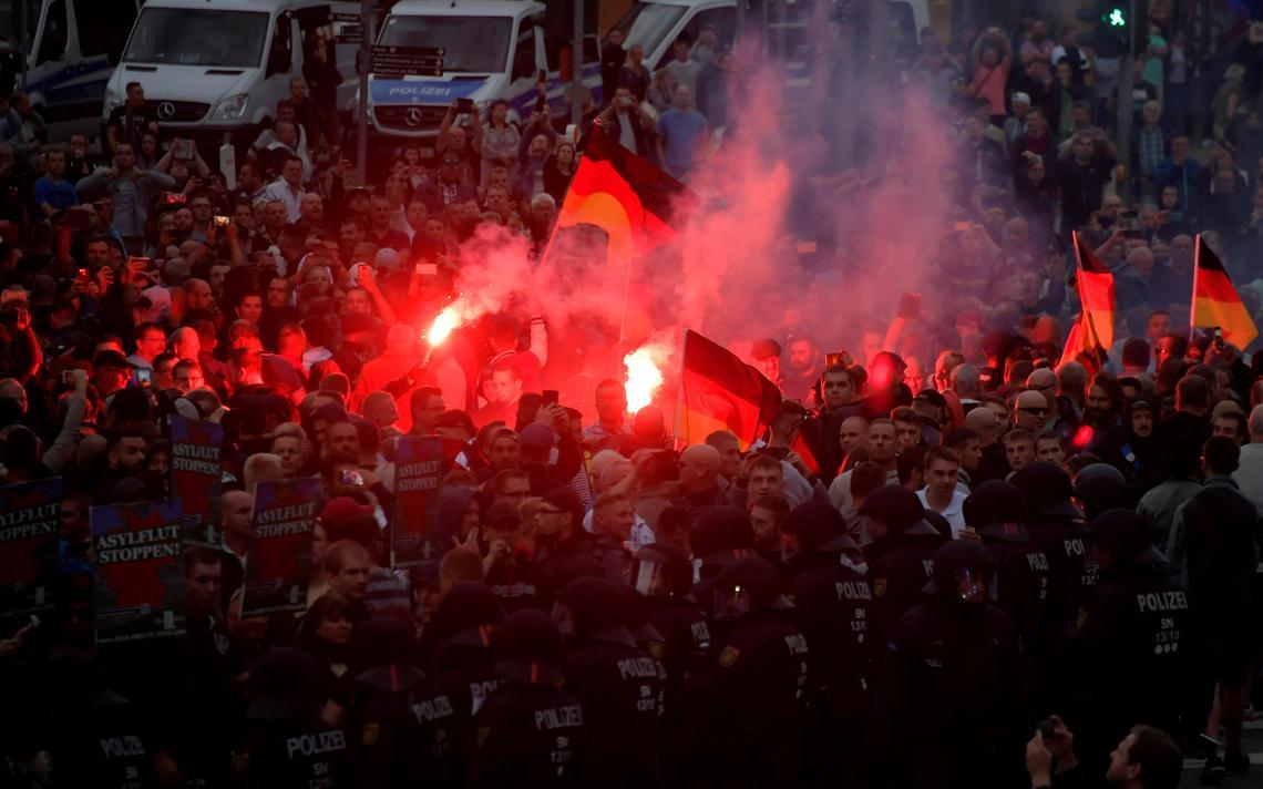 Alemanha protesto