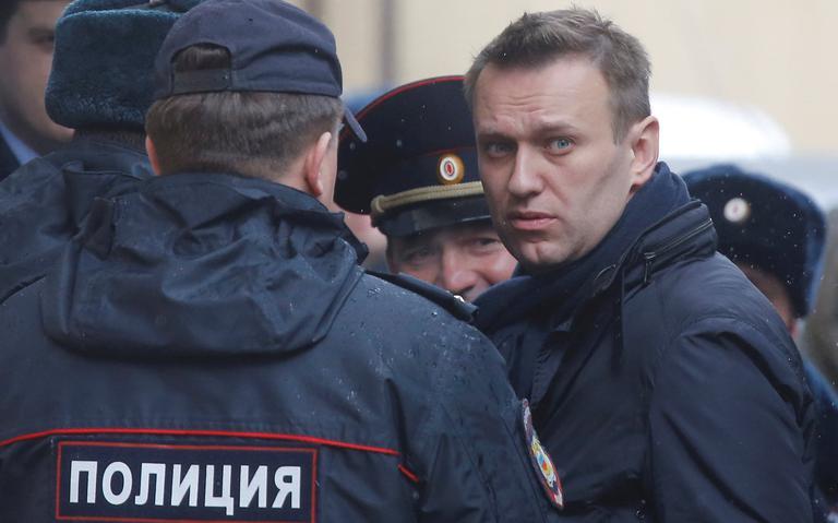 Uma das principais vozes de oposição a Vladimir Putin é presa
