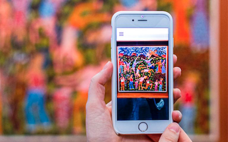 Resultado de imagem para Como museus usam realidade aumentada para expandir obras de arte