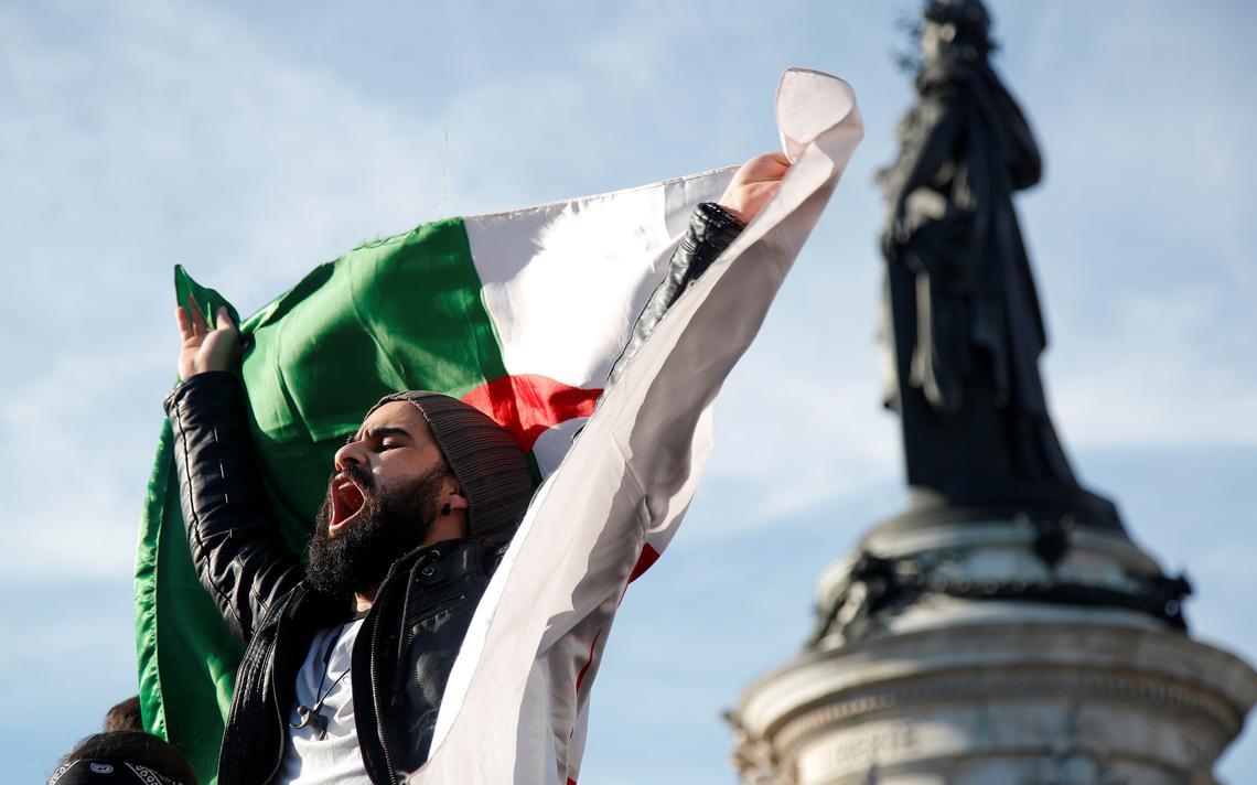 Argélia protesto