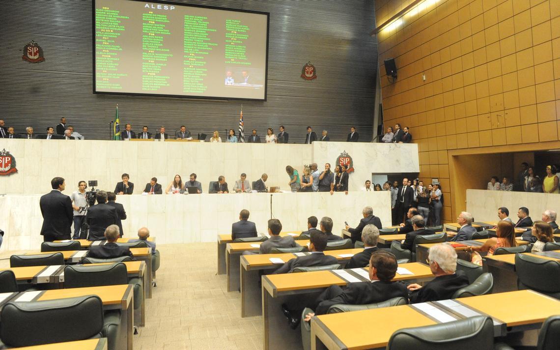 Plenário da Assembleia Legislativa de São Paulo