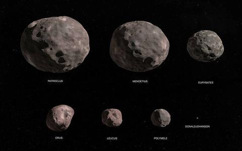 Como é a missão da Nasa aos asteroides troianos de Júpiter