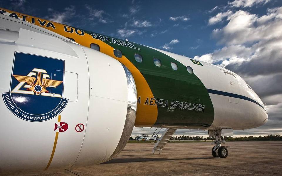 Modelo de avião usado pelo Grupo de Transporte Especial da FAB