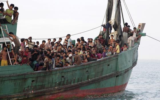 A ignorada 'temporada de botes' de Mianmar