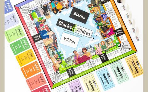 O jogo que faz uma sátira racial de 'Banco Imobiliário'