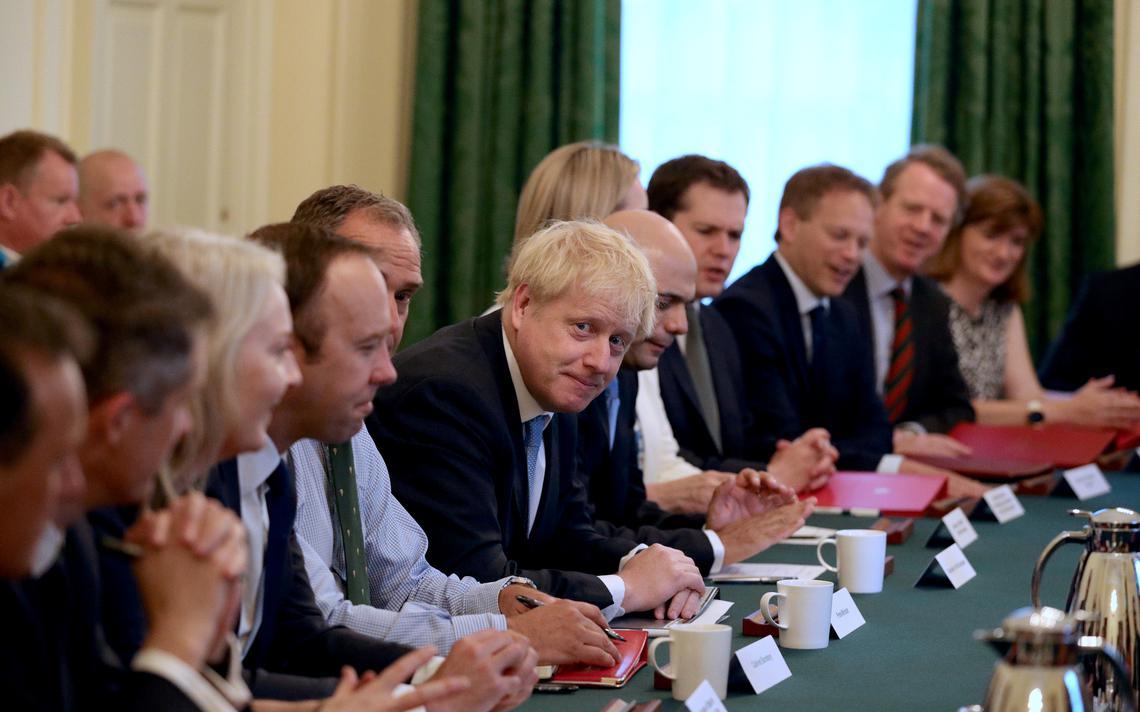 Reunião no gabinete do primeiro-ministro britânico