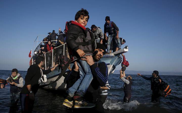 Sírios em Lesbos