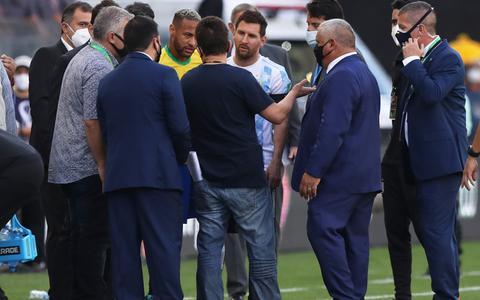 Jogo entre Brasil e Argentina é suspenso após ação da Anvisa