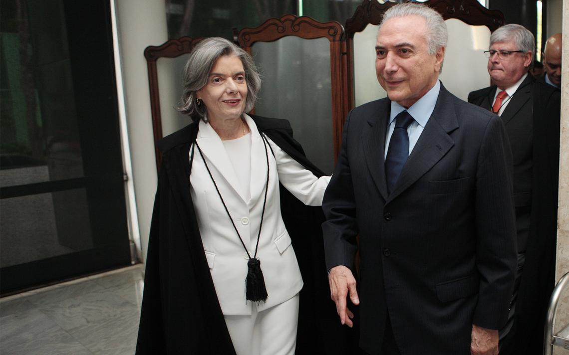 Presidente do Supremo, ministra Cármen Lúcia