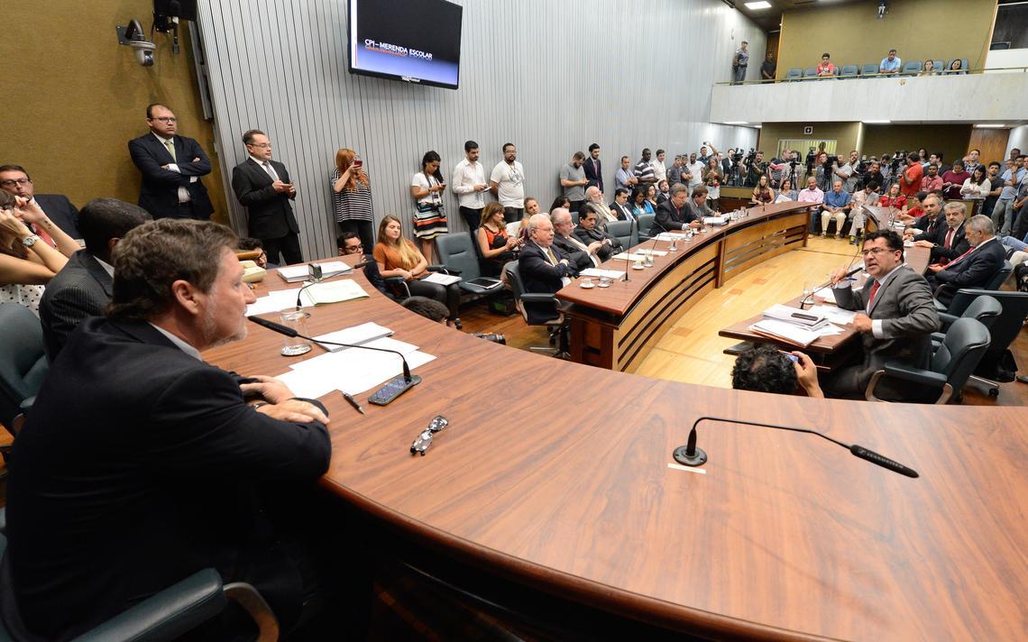 Sessão da CPI da Merenda