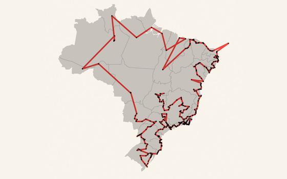 O Brasil que a tocha olímpica vai conhecer