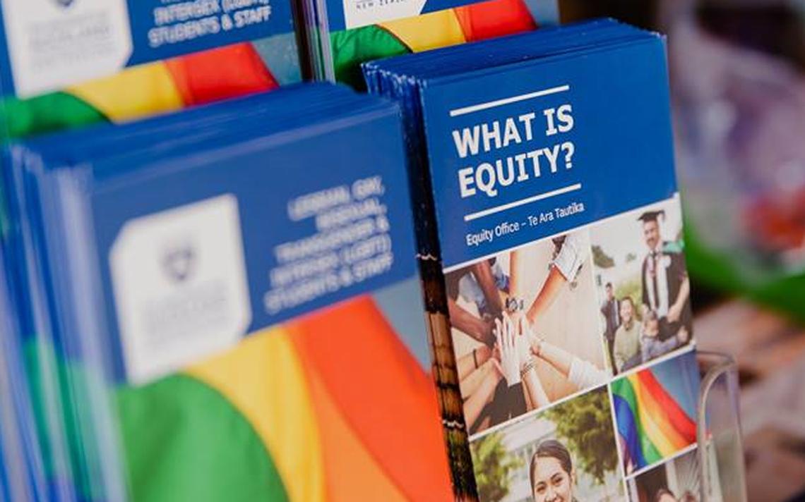 Campanha institucional em defesa da diversidade na Universidade de Auckland, na Nova Zelândia