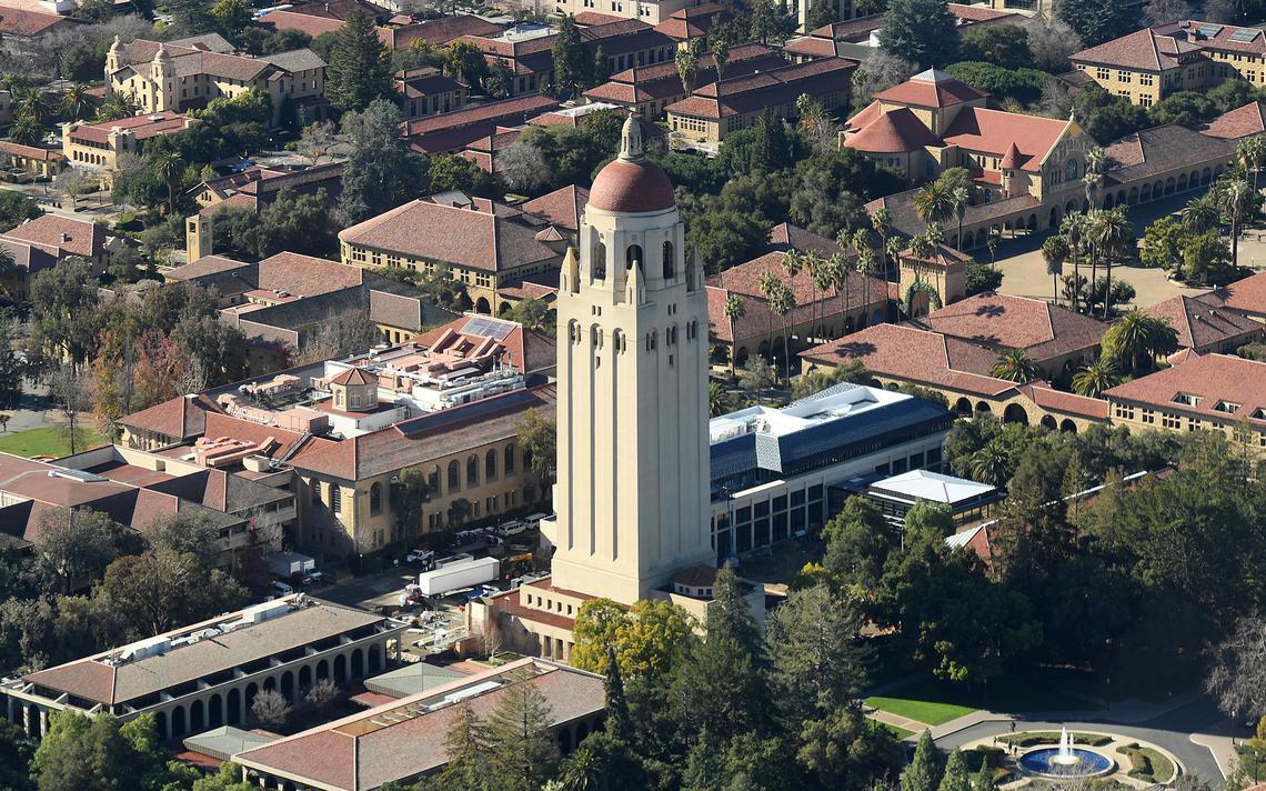 Campus da Universidade de Stanford, em 2017
